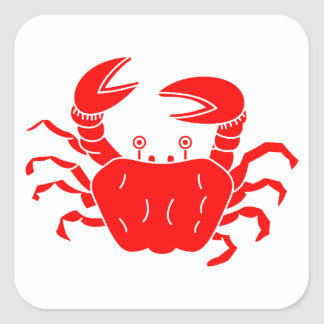 River Crab Stickers