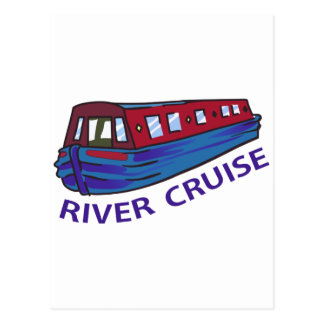RIVER CRUISE POSTCARD