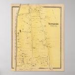 River Dale and Mt St Vincent Atlas Map Poster