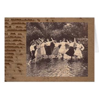 River Dance Card