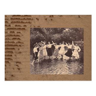 River Dance Postcard