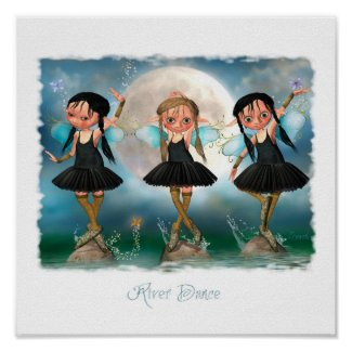 River Dance Posters by loveit2