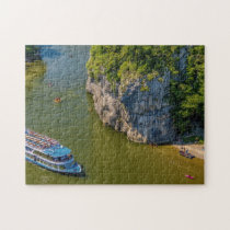 River Danube  Germany. Jigsaw Puzzle