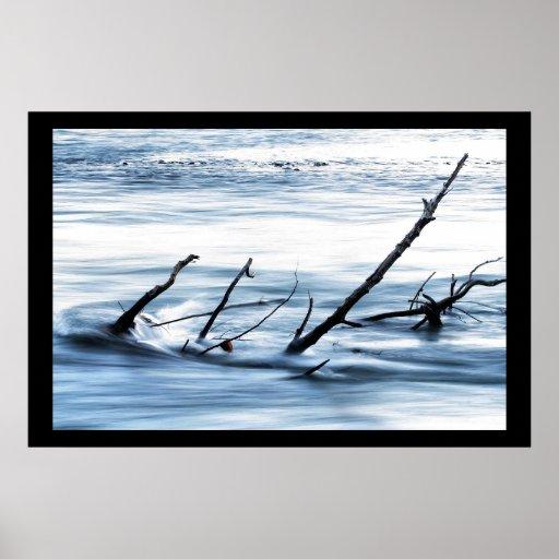 River Debris Print