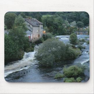 River Dee at Llangollen, Wales Mouse Pad