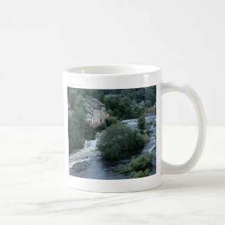 River Dee at Llangollen, Wales Classic White Coffee Mug