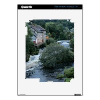 River Dee at Llangollen, Wales iPad 3 Decals
