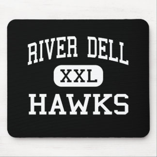 River Dell - Hawks - High - Oradell New Jersey Mouse Pad