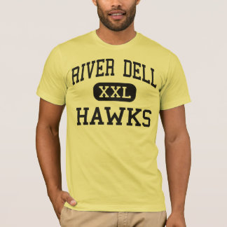 River Dell - Hawks - High - Oradell New Jersey T-Shirt