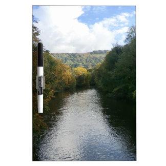 River Derwent at Matlock Bath Dry Erase Boards