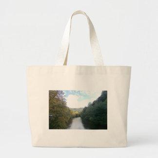 River Derwent in Derbyshire Canvas Bag