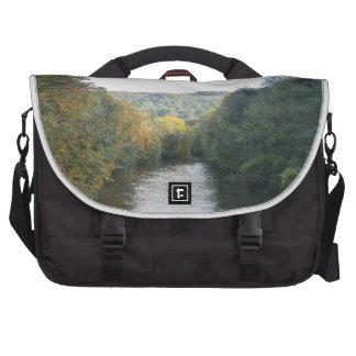River Derwent in Derbyshire Laptop Commuter Bag