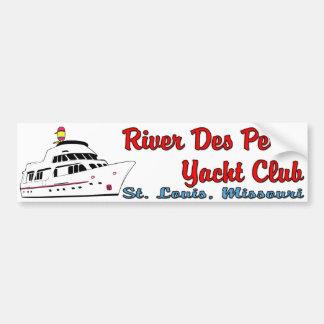 River Des Peres Yacht Club Bumper Sticker