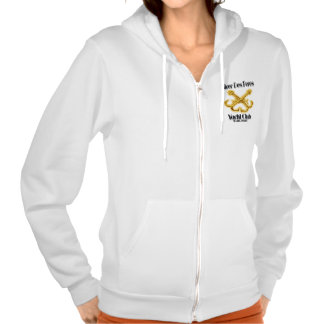 River Des Peres Yacht Club Womens Zip Up Hoodie