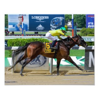 River Dog Winning the Mike Lee Stakes Photo Print