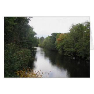 River Earn in Autumn Card