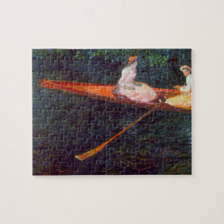 River Epte by Claude Monet Jigsaw Puzzle