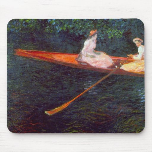 River Epte by Claude Monet Mouse Pad