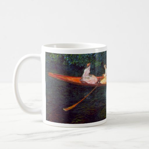 River Epte by Claude Monet Coffee Mugs