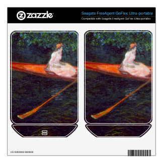 River Epte by Claude Monet Skin For FreeAgent GoFlex
