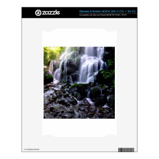 River Fairy Falls Columbia Gorge Oregon Decals For NOOK
