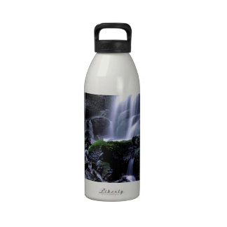 River Fairy Falls Columbia Gorge Oregon Water Bottles