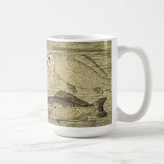 River Fish Classic White Coffee Mug