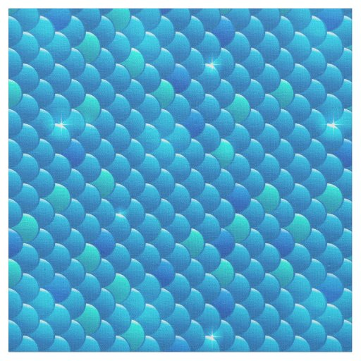 River fish scales fabric zazzle for Fish scale fabric