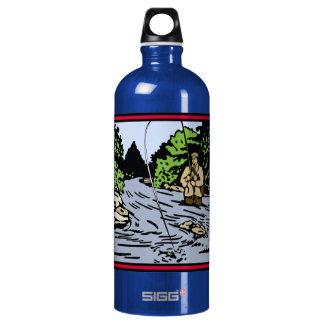 River Fishing Water Bottle