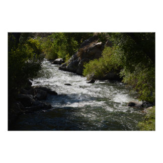 River Flows Poster
