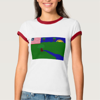River Gee County Flag T-Shirt