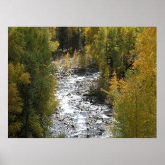 River Glow Print