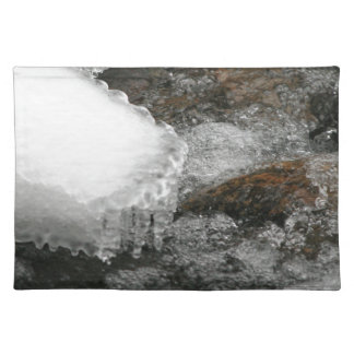 River Icicles Cloth Placemat
