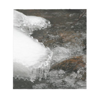 River Icicles Notepad