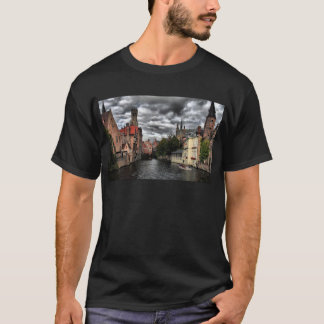 River in Bruges City, Belguim T-Shirt