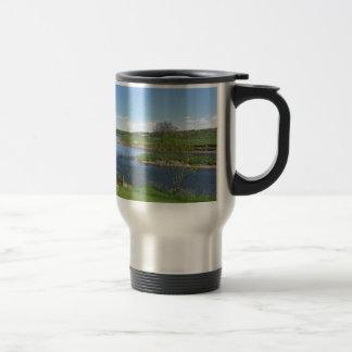 River in England Travel Mug