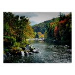 River in Fall - Ohiopyle, PA Posters