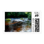 River in Maine I Postage