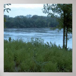 River in Missouri Print