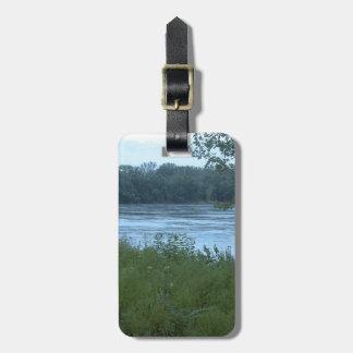 River in Missouri Travel Bag Tag