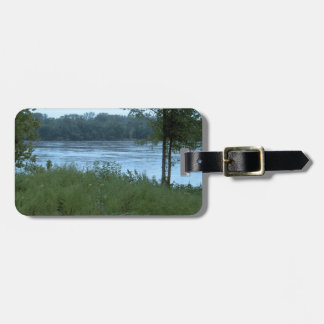River in Missouri Travel Bag Tags