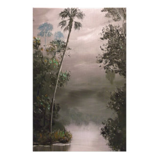 River in Mist Stationery