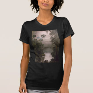 River in Mist T Shirts
