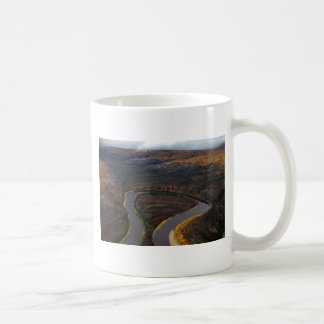 RIVER IN SEPTEMBER SCENIC CLASSIC WHITE COFFEE MUG