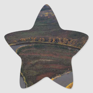 RIVER IN SEPTEMBER SCENIC STAR STICKER