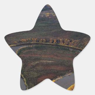 RIVER IN SEPTEMBER SCENIC STAR STICKER