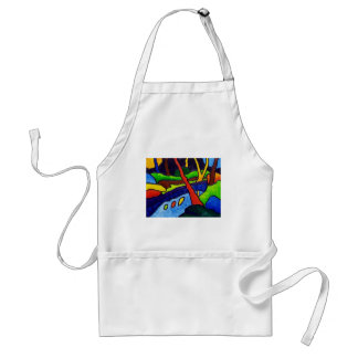 River in the Park Adult Apron