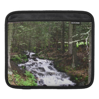 River in the Woods Sleeves For iPads