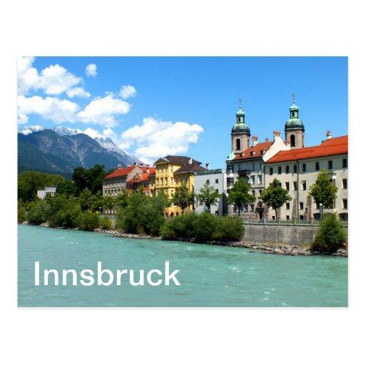 River Inn at Innsbruck Postcards