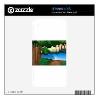 River iPhone 4S Skins